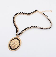 WHOLESALE FASHION JEWELRY ACCESSORIES 2014 SPRING NEW DESIGN LADY GORGEOUS ALLOY PENDANT NECKLACE
