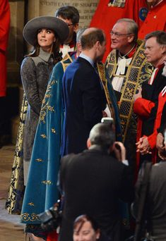 Prince William, Duke of Cambridge and Catherine, Duchess of Cambridge attend the annual Commonwealth Day service on Commonwealth Day on March 14, 2016 in Westminster Abbey, London.