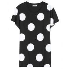 Saint Laurent - Cotton polka-dot T-shirt - mytheresa.com GmbH