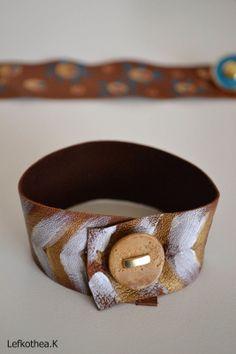 Leather bracelet Belt, Bracelets, Leather, Accessories, Jewelry, Fashion, Bangles, Jewellery Making, Moda