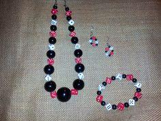 Fashion Jewelry/Bunco Dice Jewelry Set/Chunky by NSpirationalMe, $20.00