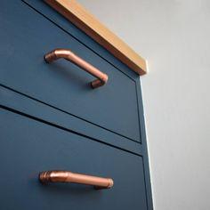 copper pulls, handmade handles, designer pulls and handles