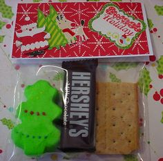 Christmas Smores made with Gingerbread Holiday stamp set from Robins Creative Cottage