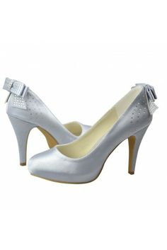 287872fa2fc women s shoes Close Toe Stiletto Heel Top Quality Satin Upper With Bowknot  Bridal Shoes