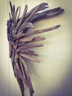 Driftwood Angel wing Driftwood Art Driftwood by EarthChildbyDesign, $154.00