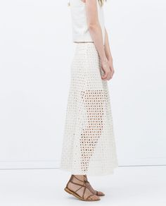 Image 2 de JUPE MI-LONGUE de Zara