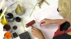Creating Large Scale Prints with Speedball® Gel Printing Plates