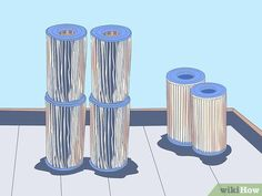 How to Clean a Cartridge Type Swimming Pool Filter. Swimming pools can be a lot of fun, especially when the weather is warm. However, pools with filters do require some maintenance. For those who want a pool but also want to save some. Swimming Pool Filters, Small Swimming Pools, Swimming Pools Backyard, Pool Landscaping, Pool Cleaning Tips, Cleaning Hacks, Cleaning Products, Homemade Pools, Pool Hacks