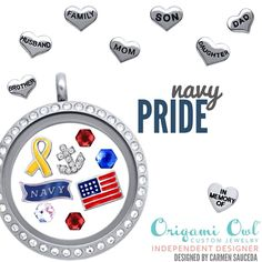 Navy.  Soldier.  Military.  Origami Owl.  Click the picture to order or go to http://annasteadman.origamiowl.com/.  Anna Steadman, Independent Designer# 11639818.  Follow me on Facebook:  https://www.facebook.com/OrigamiOwlAnnaSteadmanIndependentDesigner   http://annasteadman.origamiowl.com/