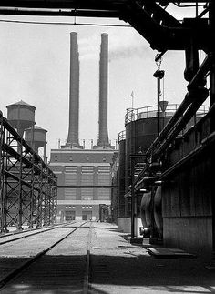 E.O. Hoppé . Ford factory Detroit Michigan 1926