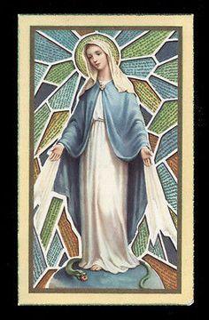 "santino-holy card""""ediz. FB serie MILANO  n.3 IMMACOLATA"