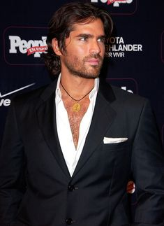 Eduardo Verastegui...not only is he beautiful, an actor, pro-life, and passionately active in this world, HE IS ON FIRE FOR GOD! We need more men like this in this world (not necessarily the actor part, lol)