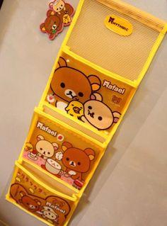 Cute Cartoon Bear Storage Mesh Bag