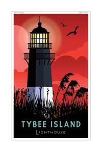Tybee Island Lighthouse by Thomas Burns