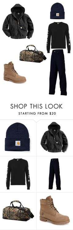 """""""Men's Carhartt outfit"""" by trinaglover18 ❤ liked on Polyvore featuring Carhartt, Timberland, mens, men, men's wear, mens wear, male, mens clothing and mens fashion"""