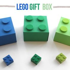 How-To: LEGO Gift Boxes