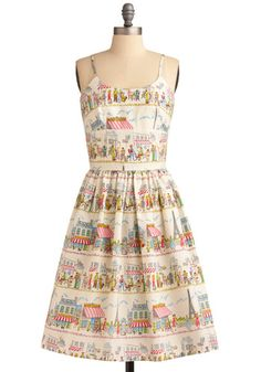 Adorable cut- check  Paris print-check  Great design name- double check (Year Abroad Dress)