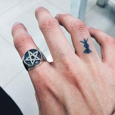 Anel pentagrama