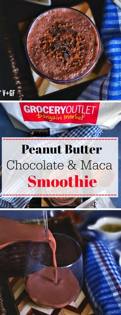 Breakfast Smoothie Bowl Recipes Peanut Butter 15 New Ideas Breakfast Smoothies, Healthy Smoothies, Smoothie Recipes, Breakfast Recipes, Homemade Chocolate, Chocolate Recipes, Yummy Drinks, Yummy Food, Dessert Recipes