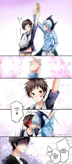 Servamp Bloopers 06 by on DeviantArt Servamp Anime, Sad Anime, Cute Anime Boy, Cute Anime Couples, Otaku Anime, Anime Love, Kawaii Anime, Anime Art, Servamp Manga
