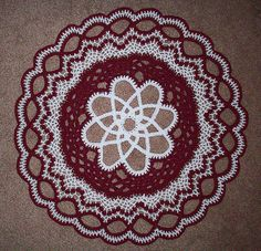 Two Color Celtic Weave Doily by Richard Sechriest $3.00