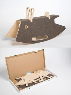 The charming Constantin rocker is a new take on the classic rocking horse. It comes flat-packed and is made of birch plywood and 100% pure new wool. Design by Thomas Maitz and Martin Pabis for Perludi. Available in seven colors.http://moddea.com/2014/12/09/constantin-rocker/