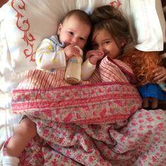 """Sweet Babies"" Photo taken by @ivankatrump on Instagram, pinned via the InstaPin iOS App! http://www.instapinapp.com (05/23/2014)"