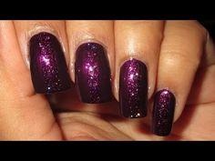 Subtle Glitter Stripe Nail Art Tutorial