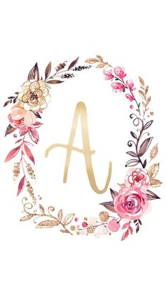 Today we have something really special for you, FREE Printable Glitter & Glam Monogram Art Prints. They are perfect for so many thing! The come in & size but they can be resized so you can use these Letters for Place Card Settings, Framed Art Work … Monogram Wallpaper, Alphabet Wallpaper, Cute Wallpapers, Wallpaper Backgrounds, Iphone Wallpaper, Trendy Wallpaper, Floral Letters, Motif Floral, Wedding Cards