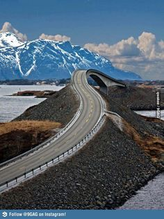Just a road in Norway