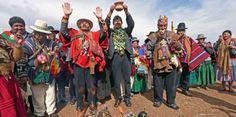 Evo Morales participa en ritos indígenas para pedir lluvias...