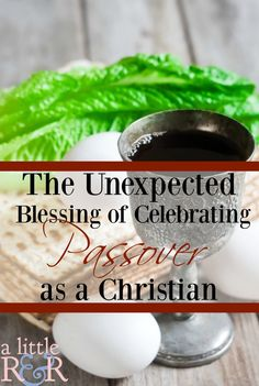 Here is one reason why Christians should celebrate Passover, plus where you can find nstructions on the Haggadah and Passover preparations!