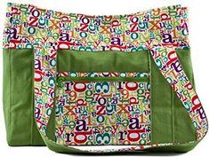 Alphabet Soup Baby Bag