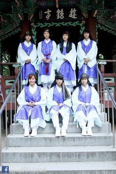 BTS in Traditional Wear. BUT LOOK AT SUGA HE IS TOO CUTE