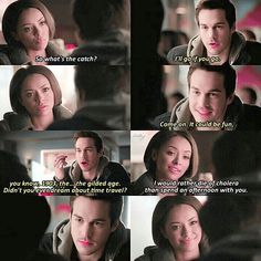 "[6x17] ""I would rather die of cholera than spend an afternoon with you"" Did you ship bonkai?"