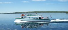 Take a ride on the best tour in Munising MI View through a glass bottom boat wooden shipwrecks of the mid Upper Michigan Glass Bottom Boat, Michigan Vacations, Grand Marais, State Of Michigan, Upper Peninsula, Boat Tours, Lake Superior, Shipwreck, Back In Time