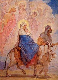 Религиозная живопись Н.А. Кошелева. Репродукции