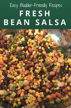 If you have a bladder condition like Interstitial Cystitis, you know it can be hard to find bladder-friendly recipes & foods. Try Trish's Fresh Bean Salsa! Ic Recipes, Ic Diet, Health Awareness Months, Bean Salsa, Interstitial Cystitis, Frozen Corn, Salsa Recipe, Food Preparation, Healthy Living