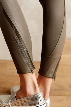 Adidas by Stella McCartney Perforated Running Tights #anthrofave