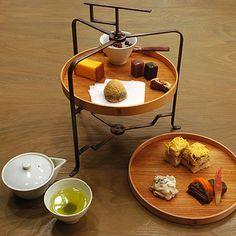 HIGASHIYA GINZA - afternoon tea set