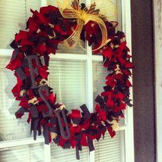 My very own Seminoles wreath!!