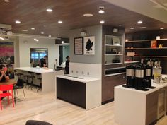 A peek into our NY office kitchen - free coffee and beer on tap! - Cloudreach - New York, NY