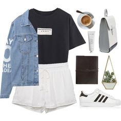 A fashion look from February 2016 by bambikisses featuring Kendall + Kylie, adidas Originals, Byredo, women's clothing, women, female, woman, misses и juniors