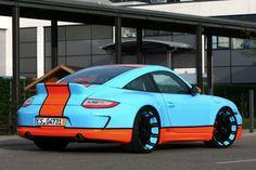 2012 porsche 911 custom oxigin gulf themed 2 this is the porsche 911 ...