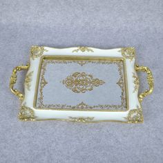 Wholesale Classical White Polyresin Towel Tray Towel Disk with Mirror Face - Buy tray with mirror, serving tray mirror, mirror glass serving tray Product on Starlights Mirror Glass, Mirror Mirror, Face Towel, New Uses, Color Box, Home Gifts, Crystals, Tabletop, Silver