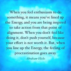 Energy, Synergy