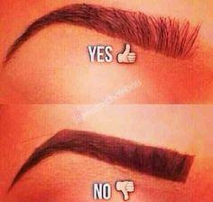 Richtige Augenbrauentechnik - Make up - Clou Pretty Makeup, Love Makeup, Makeup Tips, Makeup Looks, All Things Beauty, Beauty Make Up, Hair Beauty, Kiss Makeup, Hair Makeup