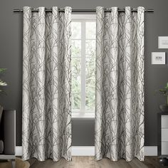 Branches Curtain Panels & Reviews | AllModern
