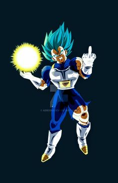 Majin Vegeta Super Saiyan Blue, Dragon Ball Super