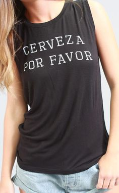 Ha! Love this tank! Perfect for a Mexico vacation! 15% off with code RIFFRAFFREPCASSIE!